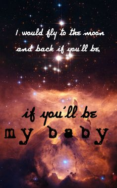 To The Moon And Back - Savage Garden. This was pretty much my favourite song when I was in my early teens
