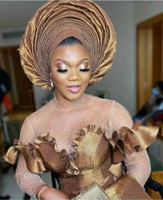 African Lace Dresses, African Fashion Dresses, African Print Fashion, Africa Fashion, Lace Skirt And Blouse, Mermaid Wedding Dress With Sleeves, African Fashion Traditional, Lace Gown Styles, Traditional Wedding Attire