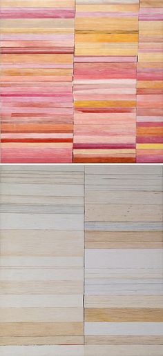 ♥ pages of stacked books, paintings by jon widman {flashe on linen}