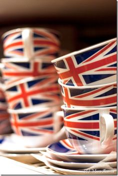 Britishness-Would make a great Doctor Who tea!