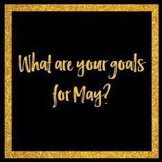 Whats your goal for May?  Ive got 3 goals for May and Im excited to achieve them! I know I will achieve them! But the one thing that drives me more than anything is this: I am the only person who is responsible for my results It may seem obvious but how many people have you heard blame other things for not achieving their goals?  But what would happen if you didnt make excuses? How much of a difference would it make to you if you achieved your goals for May?  What would you achieve if you…