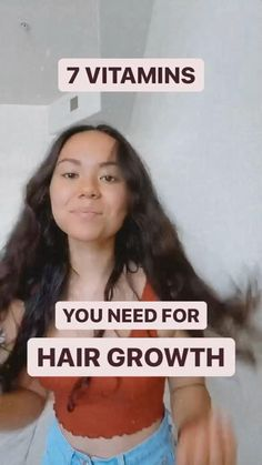 7 Vitamins You Absolutely Need For Hair Growth | Taste It With Tia
