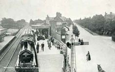 Woodhall Spa Station and Broadway. Traditional Market, My Ancestors, Locomotive, Countryside, Spa, Community, History, Trains, Image