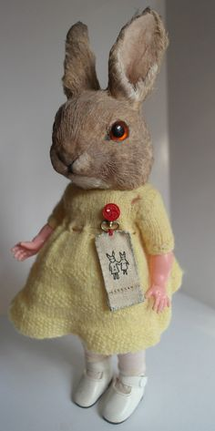 Sunshine Bunny. by AnnieMontgomerie on Etsy