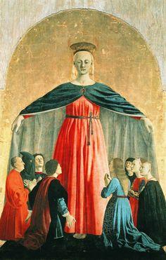 Madonna della Misericordia by Piero della Francesca (1462)