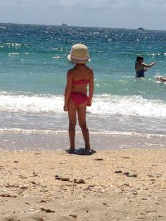 Name: Dana Cuneo Caption: First time experiencing the ocean...Lago Mar was the perfect place to do so!