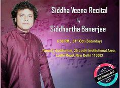 Watch Localturnon Artist Siddhartha Banerjee ( Siddha Veena ) in action @ Lok Kala Manch Cultural Festival, 6.30 PM on 1st Oct.  #turnon #music || #turnon #happiness || #turnon #Life!!