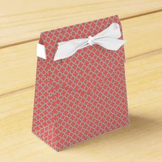 Just Peachy Party Gift Favour Box - craft supplies diy custom design supply special