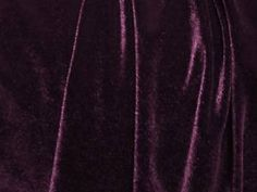 eggplant purple velvet.  Please?