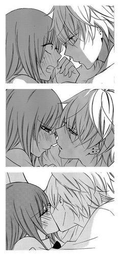 Marvelous Learn To Draw Manga Ideas. Exquisite Learn To Draw Manga Ideas. Manga Couples, Couple Manga, Cute Anime Couples, Anime Comics, Manga Romance, Manga Anime, Image Couple, Namaikizakari, Image Manga