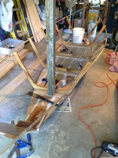 Picture of How to construct ribs for an 18 foot Grand Banks dory