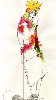 Modeconnect.com - Fashion Illustration by Timi Hayek