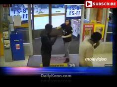 MUST SEE! Female store clerk in Finland tackles Somali Muslim migrant shoplifters and takes one down - Walid Shoebat