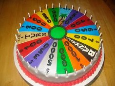 Awesome Cakes #WheelOfFortune
