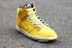 """Preview: Nike SB Dunk High """"Yellow Ripstop"""""""