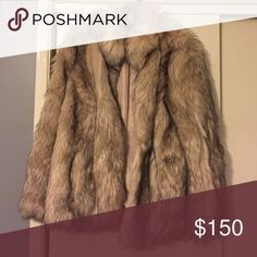Faux Fur Coat Never worn, extremely soft and warm. Top Shop Jackets & Coats
