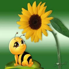 The perfect Bee Sunflower Animated GIF for your conversation. Discover and Share the best GIFs on Tenor.