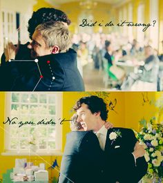 Sherlock is always so awesome and self-assured through most of the series.  It was nice to see him confused and unsure about things in this episode!