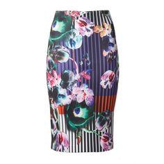 Clover Canyon Night Matador Pencil Skirt
