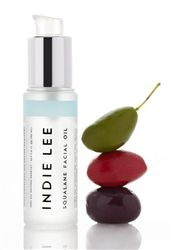 Indie Lee Squalane Oil- A luxurious skin softening oil that improves elasticity, radiance and helps reduce the appearance of fine lines.