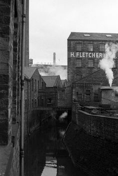 Dean Clough Mills Halifax 1960s