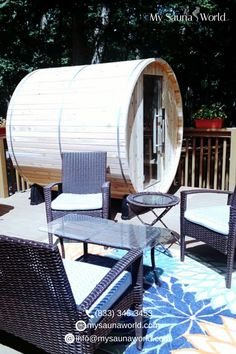 And just like that, where the outdoor sauna goes instantly becomes the family's favorite spot to hang out. Check our outdoor saunas here and get yours now! Barrel Sauna, Traditional Saunas, Outdoor Sauna, Low Humidity, Infrared Sauna, And Just Like That, Cold Day, Hanging Out, Heaven