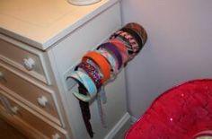 headband storage idea