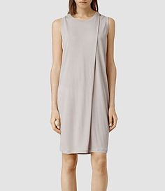 Womens Caper Dress (Ash) - product_image_alt_text_1