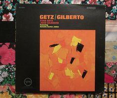 Stan Getz/ Joao Gilberto- Getz Gilberto (1964, Jazz Verve V6-8545 LP Vinyl Record)sold