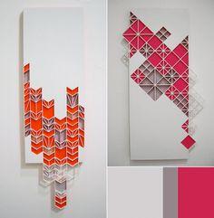 Creative Texture, Sandra, Fettingis, Pattern, and Geometric image ideas & inspiration on Designspiration Design Art, Graphic Design, 3d Prints, Wall Decor, Wall Art, 3d Wall, Geometric Shapes, Geometric Poster, Textures Patterns