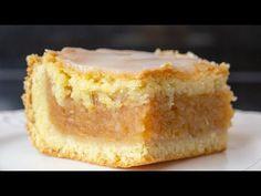 Idealna 💛delikatna, mięciutka i prosta szarlotka krucho-drożdżowa🤩 - YouTube Polish Recipes, Pain, Cake Cookies, Vanilla Cake, Cooking, Desserts, Youtube, Food, Apple