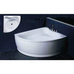 Aquatica Group Corner Acrylic Bathtub 22.75