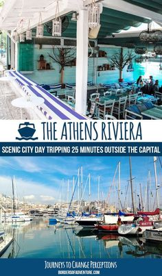 Athens Riviera Pin