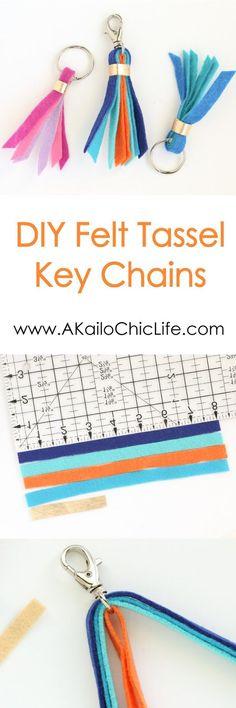 Craft It - Felt Key and Purse Tassels