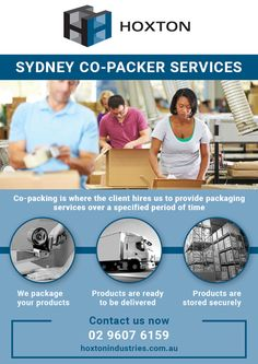 Sydney Co-packer Services  Copacking is where the client hires us to provide packaging services over a specified period of time  1. We package your products 2. Products are ready to be delivered 3. Products are stored securely  #CopackerServices, #SydneyPackaging  Visit: http://hoxtonindustries.com.au/packaging-solutions/