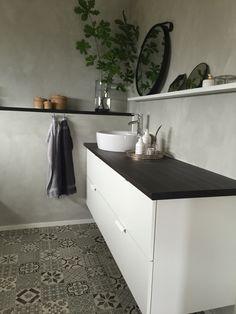 Lilla toan, målad i Jotun Minerals, IKEA GODMORGON