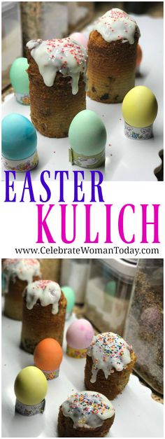 "Russian EASTER Pound Cake Recipe ""KULICH"" Easy recipe that will give you a taste of EASTER in a Russian way of things.  #RecipeIdeas #HeartThis #Recipe"
