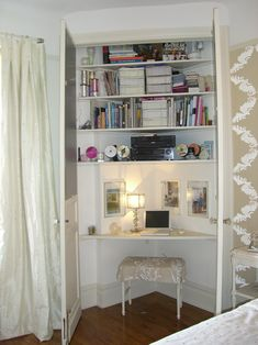 Convert+Closet+Into+Home+Office | ... converting closets into home office spaces here istill always get