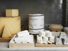 Our day exploring the cavernous maturing rooms of Neal's Yard Dairy. British Cheese, I Shop, Eat, Neal's Yard, Oxford Blue, London, Drink, Travel Guides, Exploring