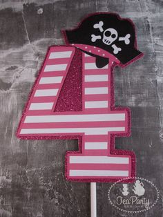 Ahoy Matey...Customized Boy or Girl Pirate by TeaPartyDesigns, $10.00