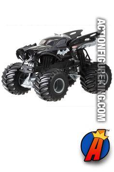 Batman Monster Jam Batmobile Die-Cast Vehicle from Hot Wheels.