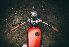 #motorcycles #bratstyle #motos | caferacerpasion.com