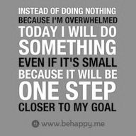 Motivational Fitness Quotes QUOTATION – Image : Quotes Of the day – Description 8 Small Steps to Start Losing Weight Sharing is Caring – Don't forget to share this quote ! Great Quotes, Quotes To Live By, Me Quotes, Motivational Quotes, Inspirational Quotes, Happy Quotes, Motivation Letter, Willpower, Fitness Quotes