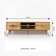 Solid wood TV stand feet compass vintage style dimensions Source by ibonelordui Tv Furniture, Building Furniture, Furniture Design, Tv Wall Decor, Room Decor, Living Room Tv Unit Designs, Solid Wood Tv Stand, Diy Tv Stand, Tv Wall Design