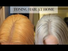 How to tone Brassy hair on a toned blonde in 15 minutes at home - Tone Yellow Hair, Yellow Blonde Hair, Silver Blonde Hair, White Hair, Brown Hair, Platinum Blonde Toner, Icy Blonde, Dying Hair Blonde, Toning Blonde Hair