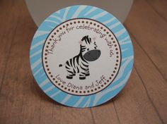 Jungle animals baby shower tags   RESERVED by by JustScrapsNThings, $39.36