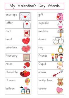 valentine name list