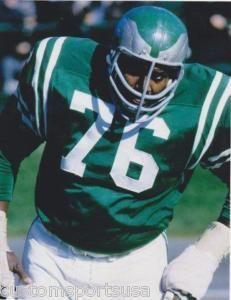 Bob Brown Philadelphia Eagles 1964-68, Los Angeles Rams 1969-70 and Oakland Raiders 1971-73. HOF Class '04.