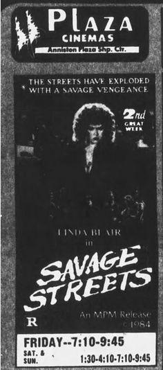 ANNISTON-2-1-85-SAVAGE STREETS