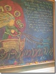 Homeschooling Fourth Grade: Norse Myths Blackboard Drawing, Chalkboard Drawings, Chalk Drawings, Eighth Grade, Fourth Grade, Freya Norse Mythology, Loki's Children, Greek Phrases, Simple Poems